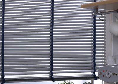 Store horizontal aluminium